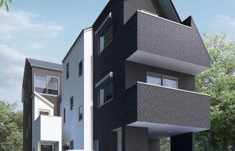 建築オーダーパース。船橋市の戸建・外観。