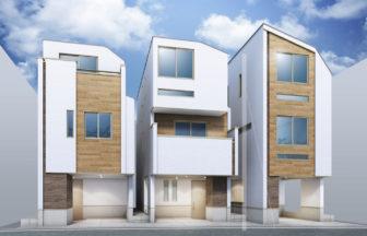 建築パース_北区の戸建て外観